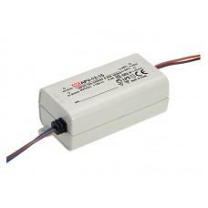 APV-12-15 Meanwell LED Driver - 15V 12W - APV-12 Series - IP42 - 15V Constant Voltage