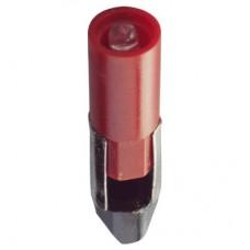 Eiko 02684  LED-120-PSB-R 110-130VAC T-2 Slide #5 Red