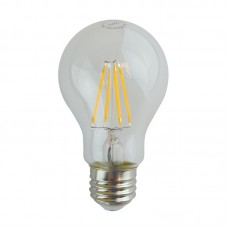 LED Filament Bulb - 4 Watt - LED A19 - Shatter-Proof - 2700K Warmwhite - 450 Lumens - 40W Equal - E26 Base