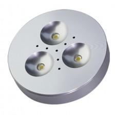 LED Puck Light -  3 Watt - 3000K / Warmwhite - 120 Degree Flood - 20 Watt Equal - LED3W/WW/PL
