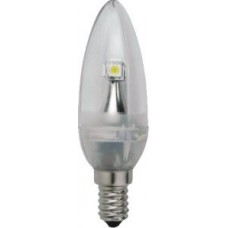 LED B11 Chandelier -1.3W /E12  - 120 Lumens - Warmwhite - LED-C35-2W / E12 WW - Landlite