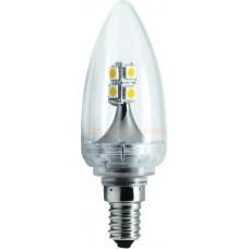 Landlite LED B11 LED-509A E12 - Retrofit LED Chandelier Bulb -2W /E12  - Warmwhite - 180 Lumens
