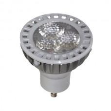 6 Watt - GU10 LED - Warm White - 40W Equal - Dimmable - 120V - GU10 Base - 6WLEDGU10/WW