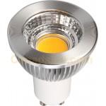 5 Watt - GU10 LED with Reflector - Coolwhite - Dimmable - 120V - GU10 Base - LEDGU10-5W-CW-80D
