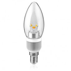 Fotonz FTCL5W-WW - LED B11 Chandelier - 5 Watt  - 400 Lumens - 3000K / Warmwhite - 40W Equal - E12 Base