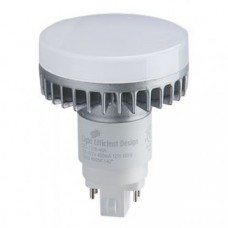 Light Efficient Design LED-7318-27A - 12 Watt - 4-Pin G24Q LED PL Retrofit - 2700K / Warmwhite - 837 Lumens - 120-277V - 26W CFL Equal