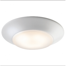 LED Low Profile Surface Mount Disclite - 15W, White - DL6-15W-WH