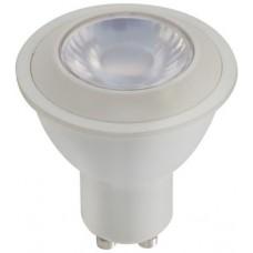 Liteline G4-GU10LED6W-30K - LED GU10 - Dimmable - 6 Watt - 3000K Halogen White - 380 Lumens - 40 Watt Equal - 38D