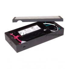 Liteline CL-THW60-JB-BK1 - 60W Xenon Puck Low Voltage Transformer - 12VAC Output - Black Finish