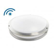 Reno R31001 RENO-CLD-16W-830K-16″-BN-SEN LED Flush Mount Ceiling Fixture with Sensor