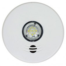 Kidde P4010ACLEDSCA  integrated 120 V wire-in smoke alarm with 10-year sealed battery backup and LED strobe light