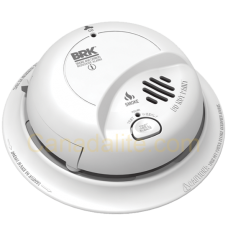 BRK SC9120BA 120V Wire-in with 9V Battery Backup Smoke and Carbon Monoxide Alarm