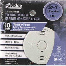 Kidde I12010SCOCA Worry-Free Combination Smoke & CO Alarms with 10 year Sealed Battery Backup