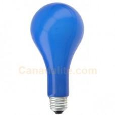 Ushio 1000264 - EBW - Stage and Studio Lamp - PS25  - Blue - Photoflood - 500W - 120 Volts - Medium Screw (E26) Base