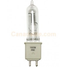 USHIO 1000543 - FLK/HX-600 - Stage and Studio Lamp - T6 - 575 Watt - 115 Volt - 16,500 Lumen - G9.5 Base