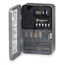 Intermatic - ET171C - SPST - Electronic Time Switch - 7 Days - Gray - 120 Volt