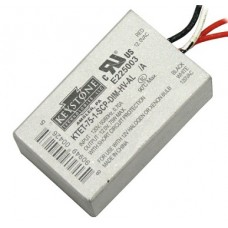 Keystone 75W 120-12VAC Low Voltage Transformer Metal Case Low Profile ** Replace SET75UL **