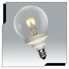 Ushio 1003702 - U-LED Globe - Retrofit LED G16 Bulb - 0.6W / E12 - Warmwhite / 2700K - 40,000 Hours** Discontinued and Not Available**